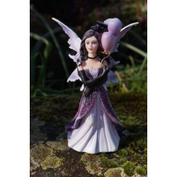 15522  FIGURINE STATUETTE  FEE AVEC CHAPEAU     HEROIC  FANTASY FAIRY DREAMS