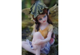 15527  FIGURINE STATUETTE  FEE PENSIVE   HEROIC  FANTASY FAIRY DREAMS