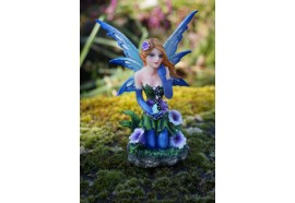 15528  FIGURINE STATUETTE  FEE PENSIVE   HEROIC  FANTASY FAIRY DREAMS
