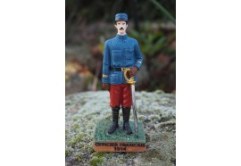 RE0319  FIGURINE  STATUETTE  OFFICIER FRANCAIS 1914 SOLDAT POILU