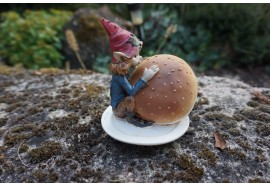 110069   FIGURINE  TROLL  ET HAMBURGER MC DO   PIXIE ELFE PIXIES