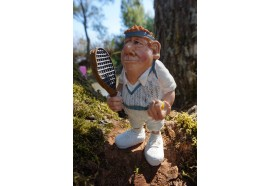 01413004 FIGURINE METIER CARICATURE  TENNISMAN  TENNIS  COLLECTION LES ALPES