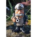 01412028 FIGURINE METIER CARICATURE CAPITAINE BATEAU COLLECTION PIPES ALPES