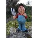 815.9115  FIGURINE METIER CARICATURE AGRICULTEUR PAYSAN   COLLECTION LES ALPES