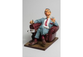 FO85532   FIGURINE METIER THE BIG BOSS  COLLECTION FORCHINO QUALITEE EXCEPTIONELLE