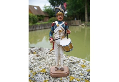 RE0155 FIGURINE STATUETTE REPRODUCTION SOLDAT TAMBOUR NAPOLEON BONAPARTE