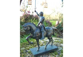 RE0254 FIGURINE STATUETTE REPRODUCTION JEANNE D ARC DE VAUCOULEURS