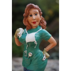 815.9684  FIGURINE METIER CARICATURE INFIRMIERE HOPITAL DENTISTE  SEXY   HUMOUR