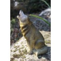MO0560 FIGURINE STATUETTE TIRELIRE LOUP LOUVE ANIMAL SAUVAGE