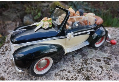 FO85055  FIGURINE JUST MARRIED  MARIAGE COLLECTION FORCHINO EXCEPTIONELLE 37 CM