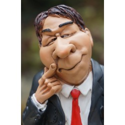 815.9139  FIGURINE METIER CARICATURE ENSEIGNANT PROF  FUNNY LES  ALPES ECOLE
