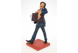 FO84004  FIGURINE LE BUSINESSMAN HOMME D AFFAIRE FORCHINO EXCEPTIONELLE 24CM