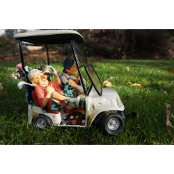 FO85075 FIGURINE LES GOPAINS  GOLFEURS  COLLECTION FORCHINO EXCEPTIONELLE 39 CM