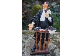 FO85501   FIGURINE METIER L  AVOCAT AVOCATE COLLECTION FORCHINO EXCEPTIONELLE