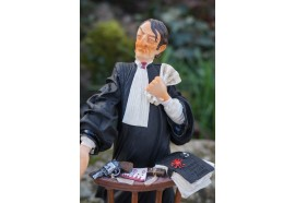 FO84001 FIGURINE METIER L AVOCAT AVOCATE COLLECTION FORCHINO EXCEPTIONELLE