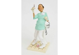 FO84005 FIGURINE METIER LE DENTISTE COLLECTION FORCHINO EXCEPTIONELLE PM