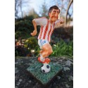 FO84013  FIGURINE JOUEUR FOOTBALL FOOT OM PSG   FORCHINO EXCEPTIONELLE