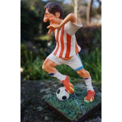 FO85542  FIGURINE JOUEUR FOOTBALL FOOT OM PSG GM   FORCHINO EXCEPTIONELLE 39 CM