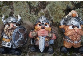 97253    3 FIGURINE VIKINGS NORMANDIE NORMAND HUMOUR FUNNY DROLE VALHALLA ODIN