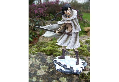 14904 FIGURINE STATUETTE MANGA GUERRIERE INUIT HEROIC FANTASY
