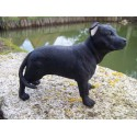 851382 FIGURINE STATUETTE STAFF BULL TERRIER CHIEN CANIN ANIMAL