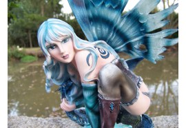 14253 FIGURINE FEE ELFE FAIRY HEROIC FANTASY GRANDE FEE SEXY FATA GM