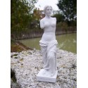 RE0012 FIGURINE STATUETTE REPRODUCTION VENUS DE MILO STYLE ALBATRE
