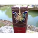 6726 B MARQUE PAGE TRES FIN FIGURINE PAPILLON NEUF