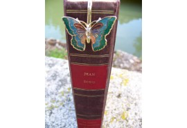 6726 C MARQUE PAGE TRES FIN FIGURINE PAPILLON NEUF