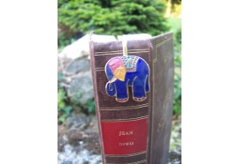 6729 H MARQUE PAGE TRES FIN FIGURINE ELEPHANT ASIE AFRIQUE NEUF
