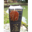 6729 K MARQUE PAGE TRES FIN FIGURINE OURS NEUF