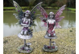 13578 DEUX FIGURINE FEE METAL HEROIC FANTASY