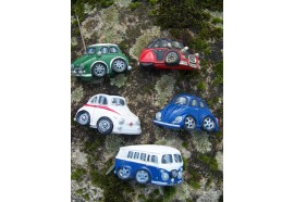 39514 B FIGURINE 5 MAGNET AIMANT MELANGE VOITURE COLLECTION COMBI FIAT 500