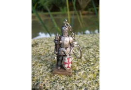 39516B PORTE-CLE MEDIEVAL ARMURE MOYEN AGE FIGURINE CHEVALIER