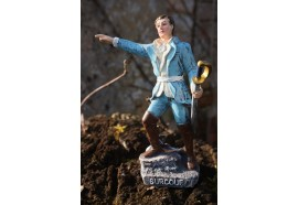RE0204  FIGURINE  STATUETTE REPRODUCTION  ROBERT SURCOUF CORSAIRE PIRATE