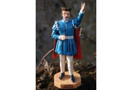 RE0206  FIGURINE  STATUETTE REPRODUCTION  JACQUES CARTIER  NAVIGATEUR MALOUIN