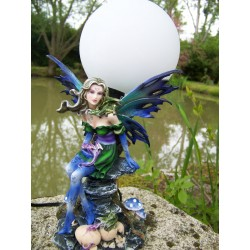 15098 LUMINAIRE LAMPE FIGURINE FEE ELFE HEROIC FANTASY GM FAIRY DREAMS